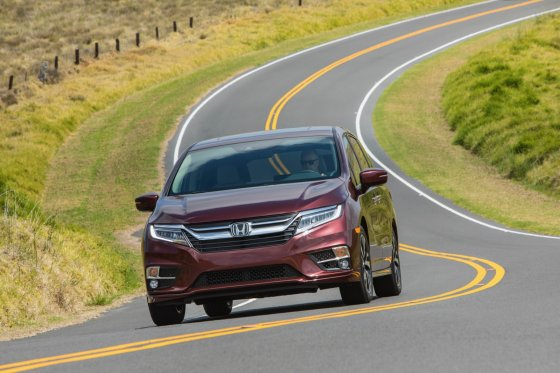 2018 Honda Odyssey Performance 1 560x373