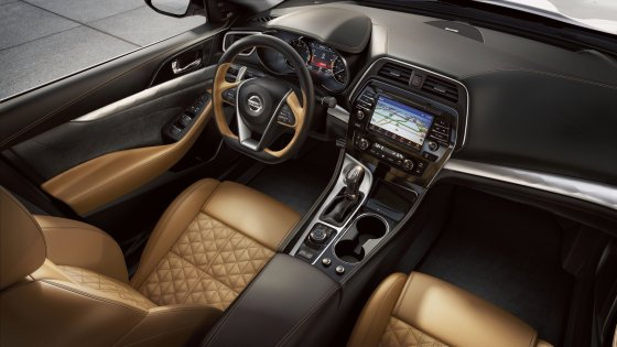 2018 Nissan Maxima Interior 1 560x315