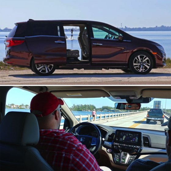 2018 Honda Odyssey 560x560