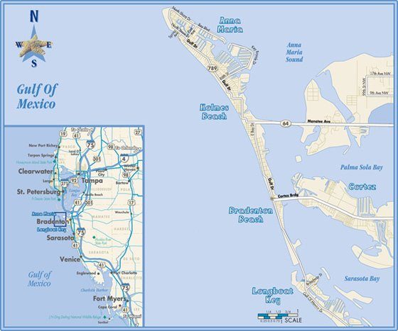 Bradenton Map 560x467