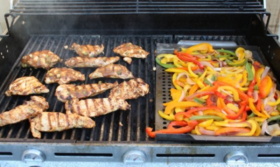 grilled fajita chicken 560x334