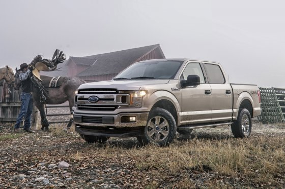2018 Ford F150 Exterior 560x373