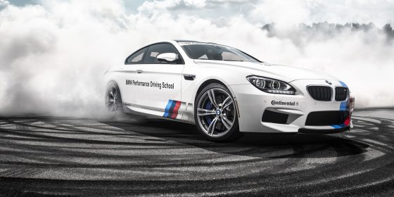 BMW Performance Driving School 560x280