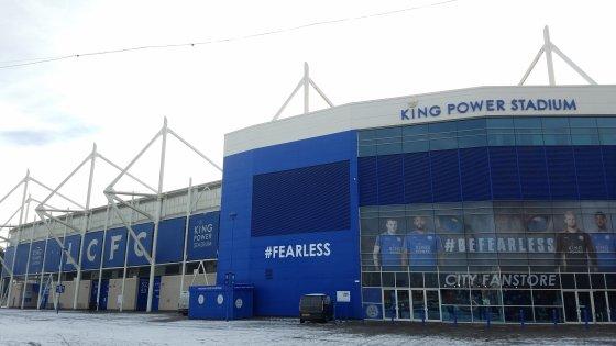 Leicester City Football Club King Power Stadium 560x315