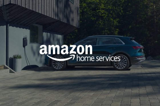 Small Audi and Amazon team up to prepare homes nation wide for launch of Audi e tron 4730 560x370