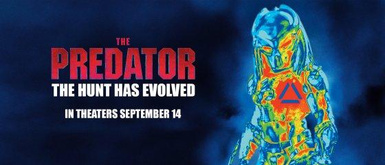 The Predator poster 560x241