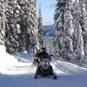 Live Your James Bond Fantasy with a Snowmobile Adventure in Montana