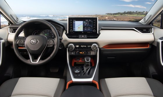 2019 Toyota RAV4 Adventure Interior 1 560x334