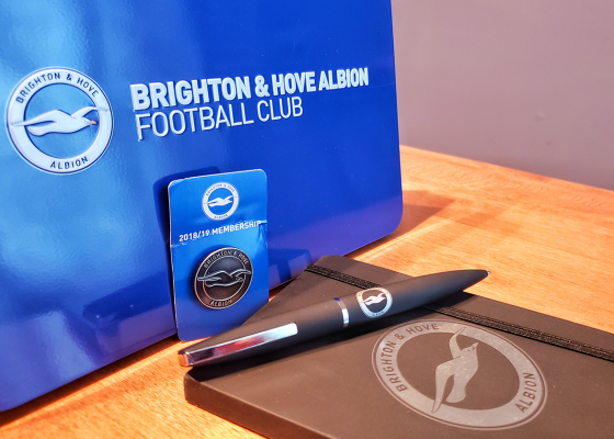 Brighton and Hove Albion Membership Pack 560x400