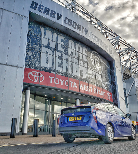 Derby County Pride Park Toyota Stand 560x623
