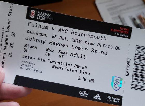 Fulham Ticket 560x409