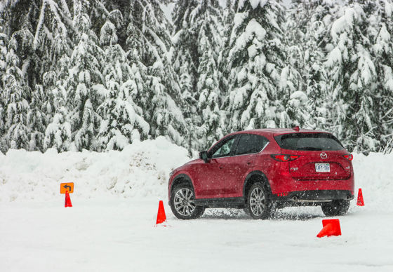 2019 Mazda CX 5 Whistler Snow Driving Course 560x388