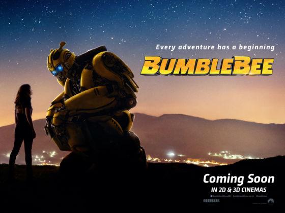 Bumblebee poster 560x420