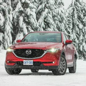 Dashing Through the Snow in a Mazda CX-5