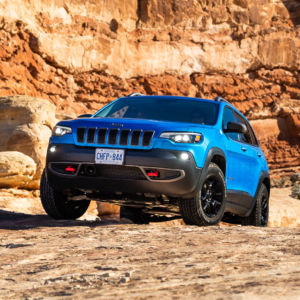 Jeep Trailhawk : Winter Off-Road Adventure in Moab