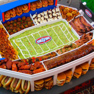 Ultimate Super Bowl Snack Stadium Gallery