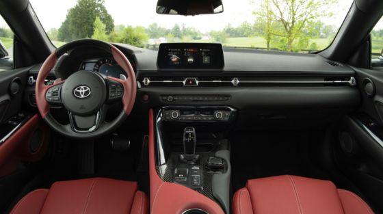 2020 Toyota GR Supra Interior 2 560x313