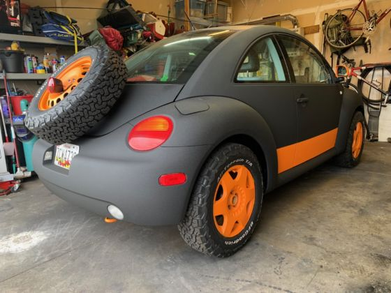 Baja Bug Build Raptor Paint 13 560x420