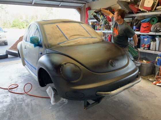 Baja Bug Build Raptor Paint 2 560x420
