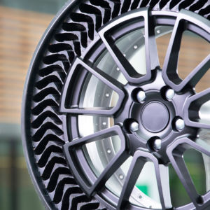 Michelin Unveils Airless Passenger Vehicle Tire