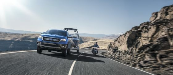 2019 Ford Ranger Tow 560x244