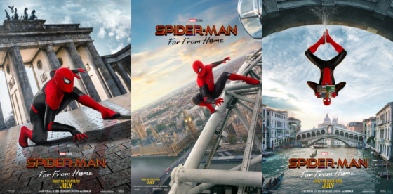 spider man far from home collage 560x276
