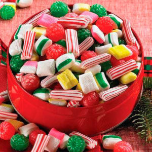 Ten Disgusting Pieces of Christmas Candy