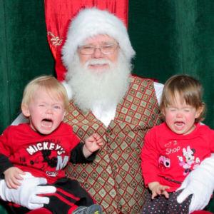 A Look at Kids Afraid of Santa