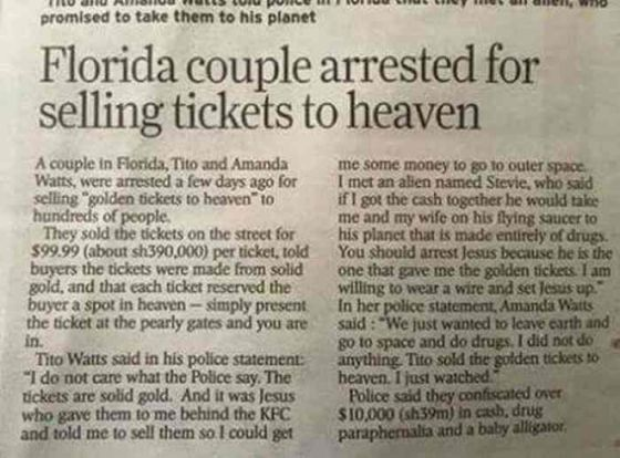 l 35297 florida couple arrested for selling tickets to heaven 560x414