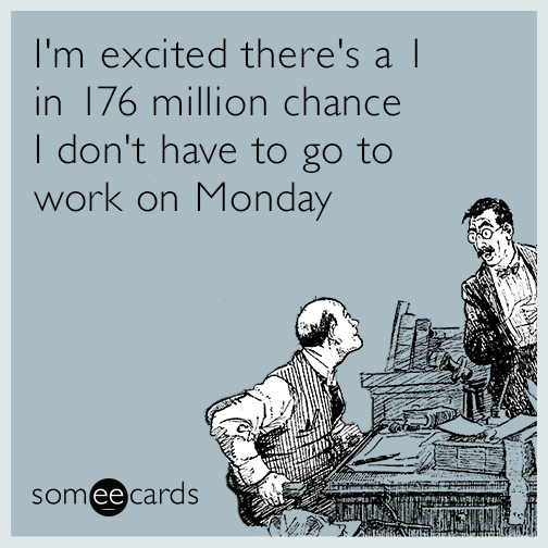 quit job work lottery mega millions funny ecard bsk