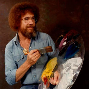 Bob Ross: Behind the Soothing Voice