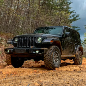 Getting Muddy in a 2021 Jeep Wrangler Unlimited Rubicon 392