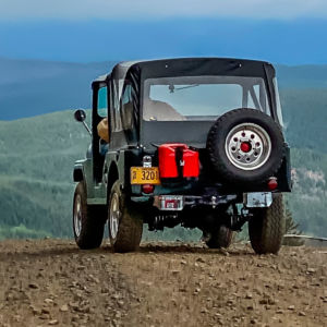 Tackling the Tillamook Trails in a Vintage Jeep