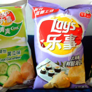 Top Ten Lay's Flavors in China
