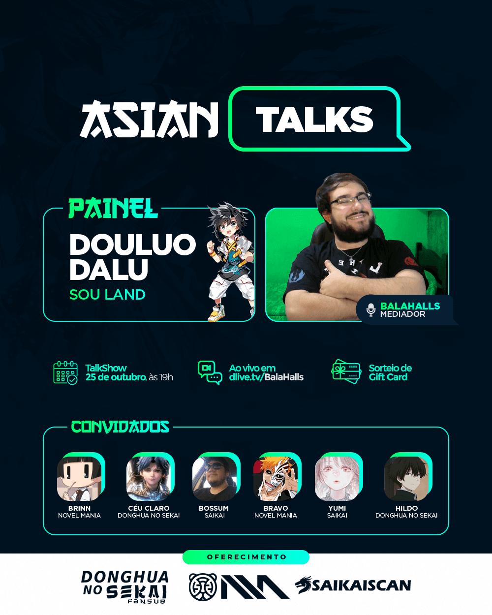 Asian Talks: Douluo Dalu