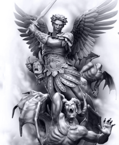 Capa da novel Bom Demônio