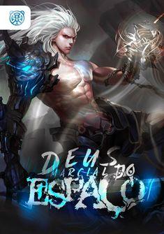 Capa da novel Deus Marcial do Espaço