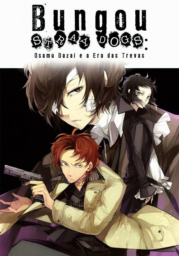 Capa da novel Bungou Stray Dogs: Osamu Dazai e a Era das Trevas