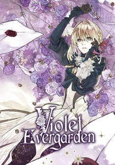 Capa da novel Violet Evergarden