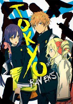Capa da novel Tokyo Ravens