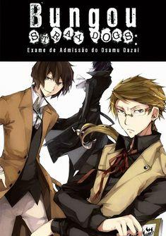 Capa da novel Bungou Stray Dogs: Exame de Admissão do Osamu Dazai