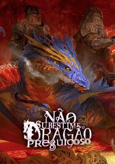 Capa da novel Não Subestime o Dragão Preguiçoso