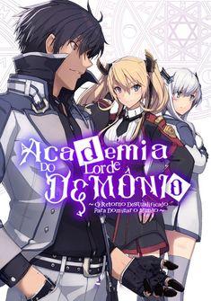 Capa da novel A Academia do Lorde Demônio ~ O Retorno Desqualificado para Dominar o Mundo ~