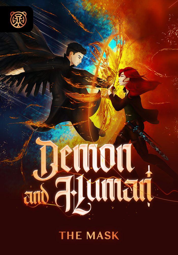 Capa da novel Demon And Human