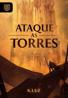 Capa da novel Ataque as Torres!
