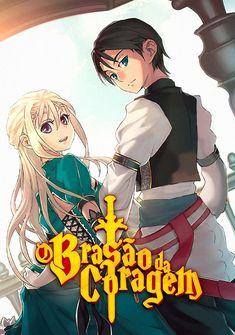 Capa da novel O Brasão da Coragem