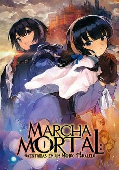 Capa da novel Marcha Mortal: Aventuras em um Mundo Paralelo