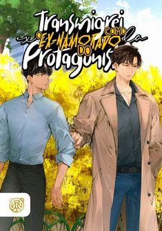 Capa da novel Transmigrei como o Ex-Namorado do Protagonista