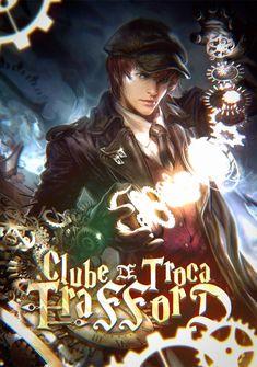 Capa da novel Clube de Troca Trafford