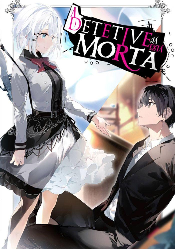 Capa da novel A Detetive já está Morta